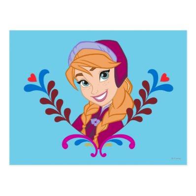 Anna - Strong Heart Postcard