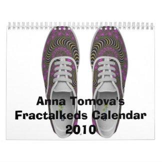 Anna Tomova's Fractalkeds Calendar2010 Calendars