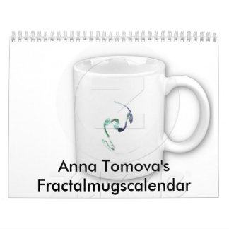 Anna Tomova's Fractalmugscalendar Wall Calendars