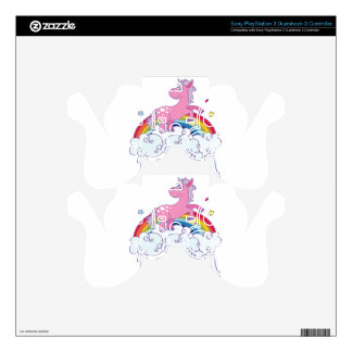 Anna Unicorn Name Skin For PS3 Controller