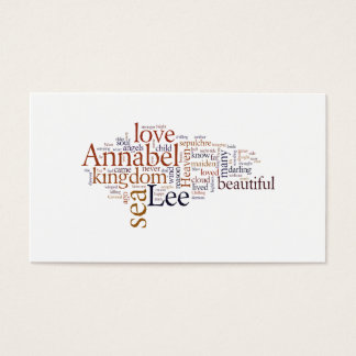 Annabel Lee Business Card