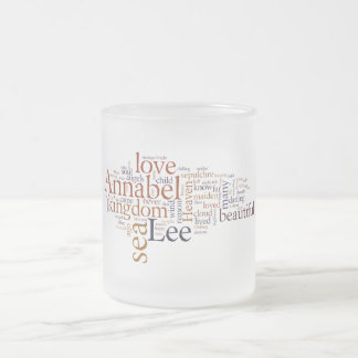 Annabel Lee Frosted Glass Coffee Mug