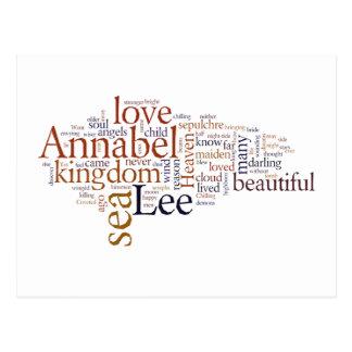 Annabel Lee Postcard