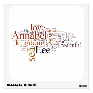 Annabel Lee Wall Decal
