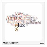 Annabel Lee Wall Graphics