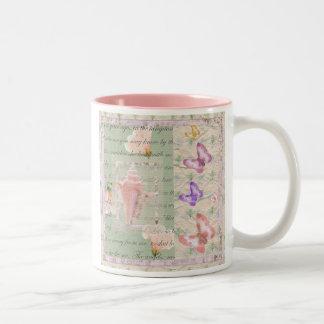 Annabell Lee Two-Tone Coffee Mug