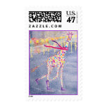 Annabelle en franqueo púrpura del primer del hielo timbres postales