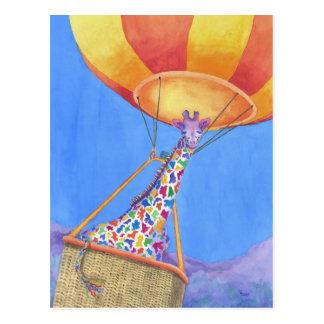 Annabelle en la postal del aire