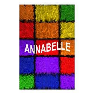 ANNABELLE ( female names ) Stationery