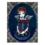 Annabelle Gothic Victorian Angel Postcard