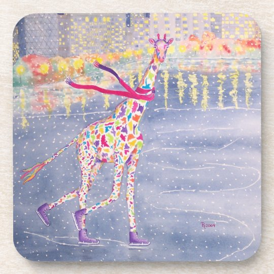 Annabelle On Ice Cork Coaster