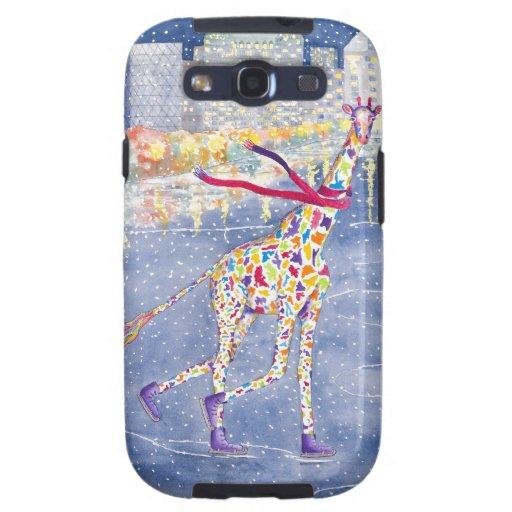 Annabelle on Ice Galaxy S3 Vibe Case Galaxy SIII Case