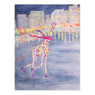 Annabelle on Ice Postcard