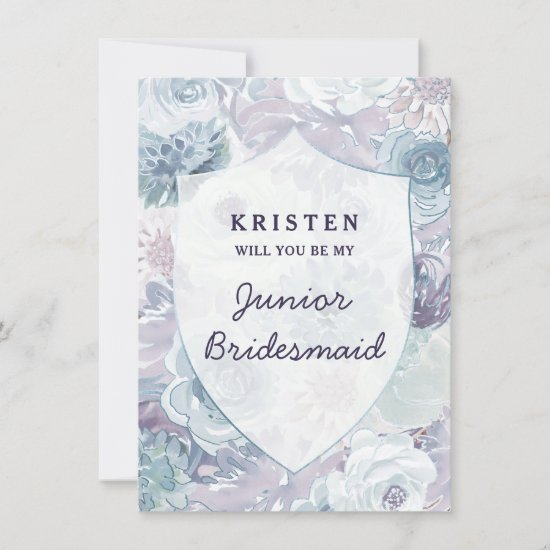 Annabelle Vintage Crest Junior Bridesmaid Proposal
