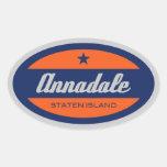 Annadale Calcomanías De Ovales Personalizadas