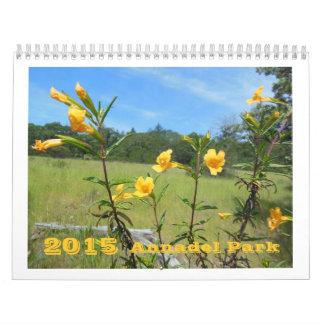 Annadel Park Custom Wild Flower Calendar 2015