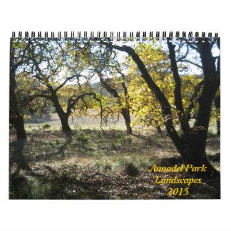 Annadel State Park Landscapes 2015 Calendar