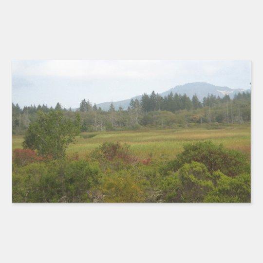 Annadel State Park - Ledson Marsh Rectangular Sticker