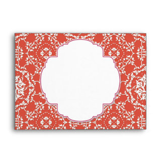 AnnaLiese Damask - Matching Invitation Envelopes