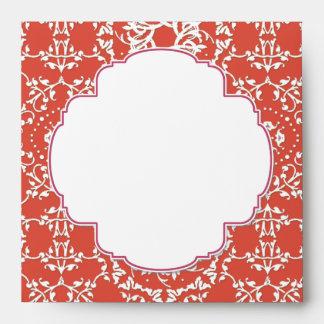 AnnaLiese Damask - Matching Invitation Envelopes