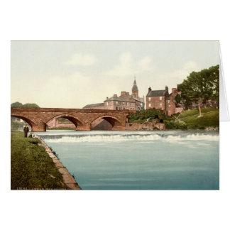 Annan Bridge, Dumfries and Galloway, Scotland Card