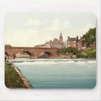 Annan Bridge, Dumfries and Galloway, Scotland Mouse Pad