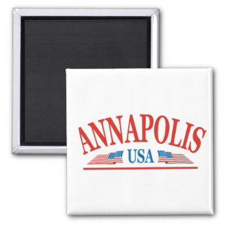 Annapolis 2 Inch Square Magnet