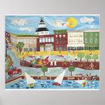Annapolis céntrico en el verano poster