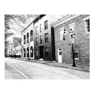 Annapolis céntrico histórico postal