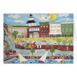 Annapolis en el verano (tarjeta de felicitación)