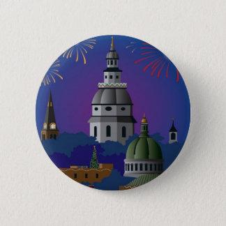 Annapolis Holiday Button