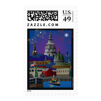 Annapolis Holiday Postage
