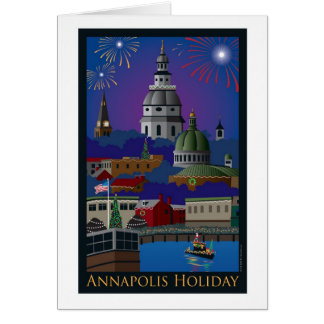 Annapolis Holiday with title Card