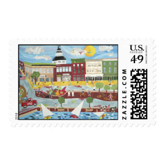 Annapolis in the Summer Postage
