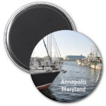 Annapolis, Maryland 2 Inch Round Magnet