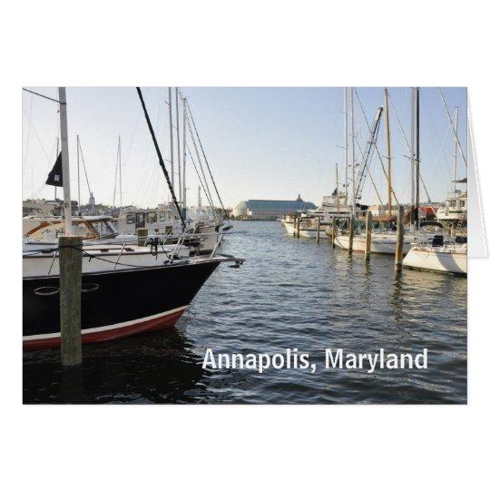 Annapolis, Maryland Card