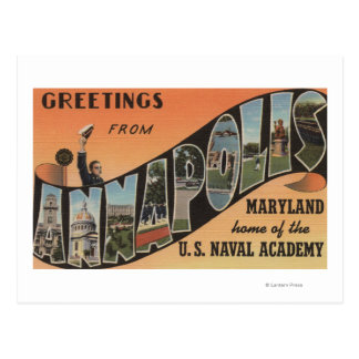 Annapolis, Maryland - escenas grandes de la letra Postal