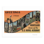 Annapolis, Maryland - Large Letter Scenes Post Card