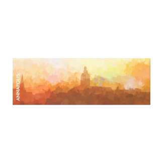 Annapolis Maryland Skyline IN CLOUDS Canvas Print