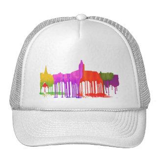 ANNAPOLIS MARYLAND SKYLINE PUDDLES - TRUCKER HAT