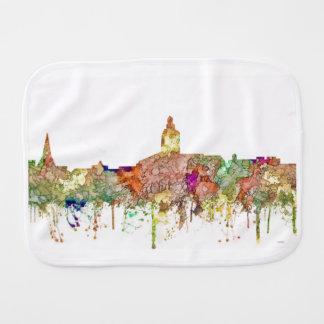 Annapolis Maryland Skyline SG - Faded Glory Burp Cloth