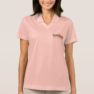 Annapolis Maryland Skyline SG-Faded Glory Polo Shirt