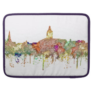 Annapolis Maryland Skyline SG-Faded Glory Sleeve For MacBook Pro