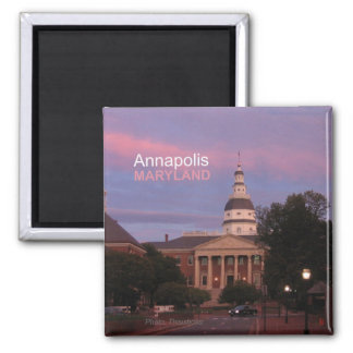 Annapolis Maryland State House Fridge Magnet