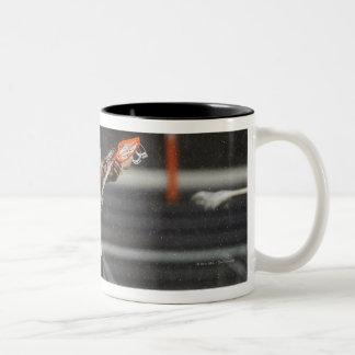 ANNAPOLIS, MD - 27 DE AGOSTO:  Kevin Unterstein #0 Tazas De Café