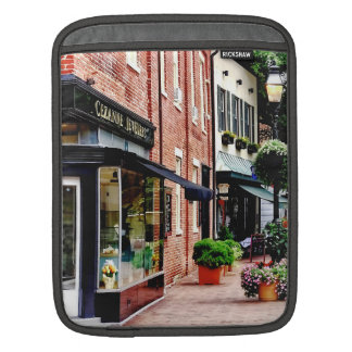 Annapolis MD - Along State Circle iPad Sleeve