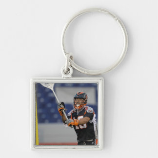 ANNAPOLIS, MD - AUGUST 13:  Goalie Jesse Silver-Colored Square Keychain
