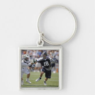 ANNAPOLIS,MD - AUGUST 22:  Ben Hunt #18 Silver-Colored Square Keychain