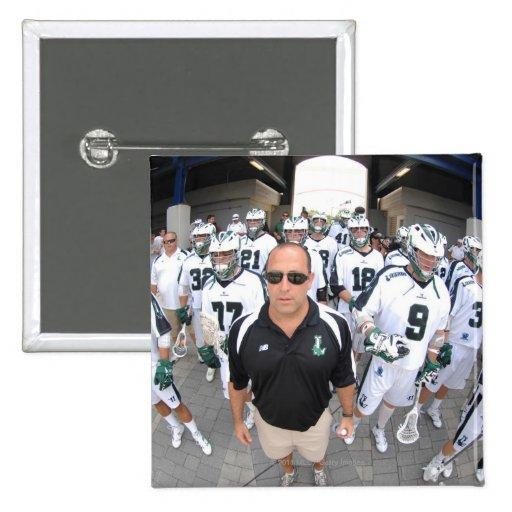ANNAPOLIS,MD - AUGUST 22:  Head coach Jim Mule Pinback Buttons