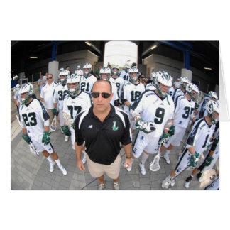 ANNAPOLIS,MD - AUGUST 22:  Head coach Jim Mule Greeting Card